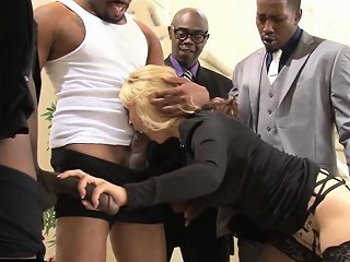 Classy Milf Anally Drilled By Black Cocks Nuvid